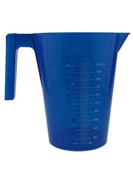 Messbecher   1.000 ml   blau