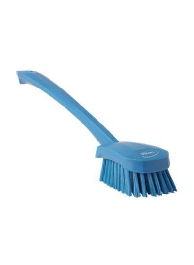 Vikan Waschbürste mit langem Stiel |medium | blau