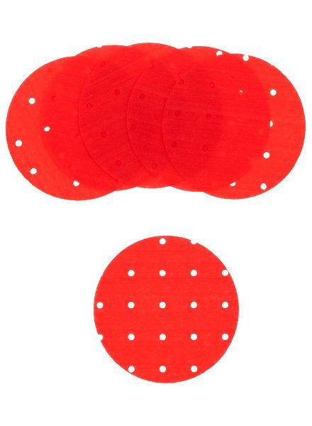 Kaseinmarken | rot | rund
