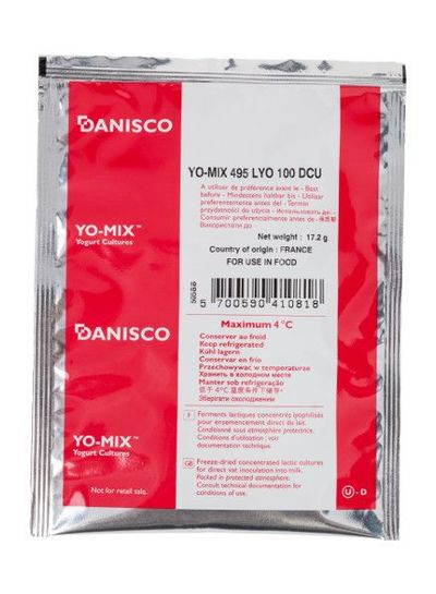 Danisco Yo-Mix 495 LYO 100 DCU