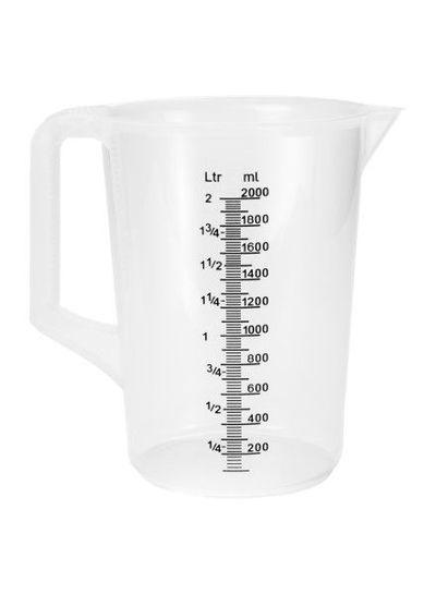 Messbecher | 2.000 ml | mit Henkel