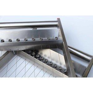 Zusätzlicher Schneiderahmen 37,5 mm Schnittstärke zu Praline-Schneideapparat