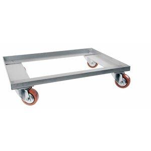 Fahrbarer Untersatz, Aluminium