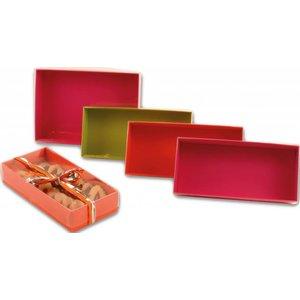 Gebäck-Packungen mit Klarsichtsdeckel groß 200 x 140 x 40mm / VPE 72 Stk.