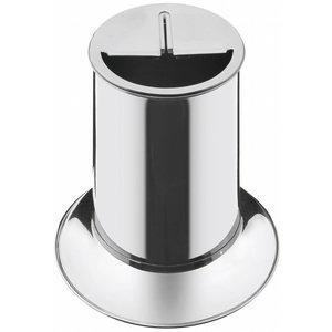 Messer-Abstreifbehälter Edelstahl 320mm