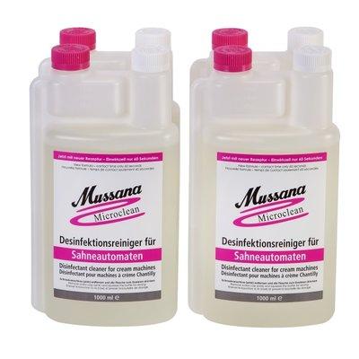 Desinfektionsreiniger Micro Clean NEU zu Mussana Schlagsahne-Automaten