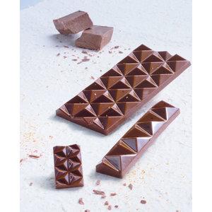 Schokogiessform Schokoladetafel Dreieck 138 x 72 mm