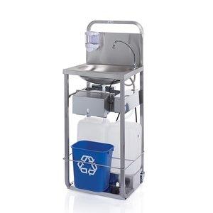 Handwaschbecken fahrbar
