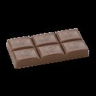 Brunner Schokogiessform Täfelchen mit Kakaoschote 70 x 35 x 8,8 mm