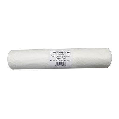 Säcke 70 Liter Standard weiß/transparent