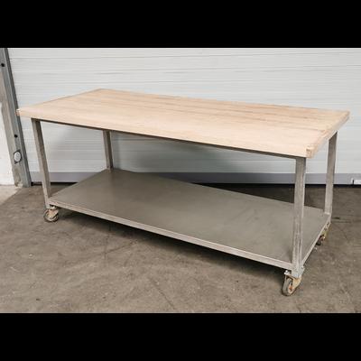 CNS-Arbeitstisch 200x80x87cm