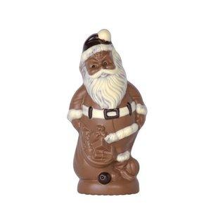 Brunner Schokogiessform Weihnachtsmann mit gefülltem Sack