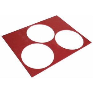 Gummi-Schablone Stärke 5 mm