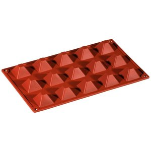Pavoni Silikonbackmatte Formaflex Pyramide