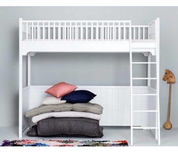 Oliver Furniture Hochbett weiß 90 x 200