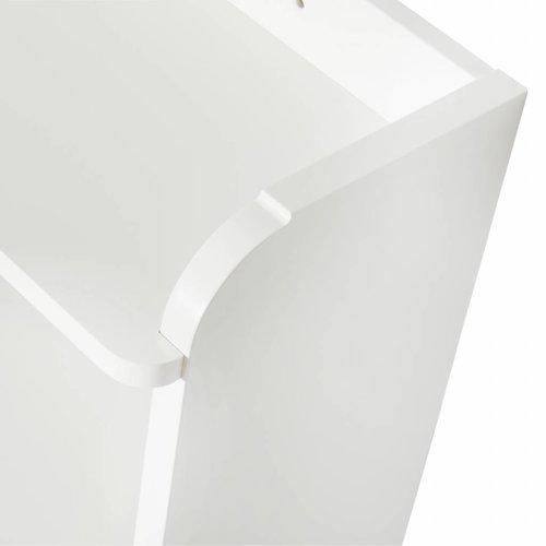 Oliver Furniture Bücherregal mit Haken, weiß
