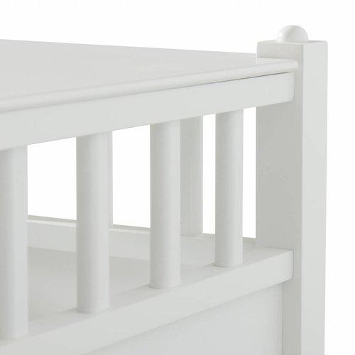 Oliver Furniture Nachttisch Spielzeugtruhe Cube, weiß