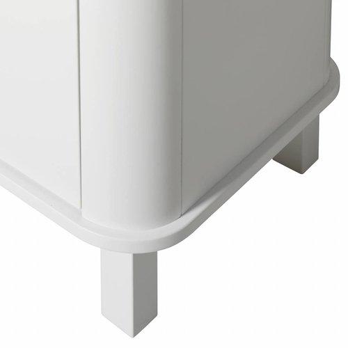 Oliver Furniture cupboard 3 doors white