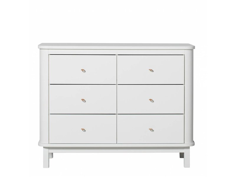 Oliver Furniture Wood Kommode weiss