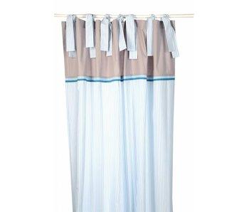 Annette Frank Vorhangschal Elefant blau 150 x 250 cm