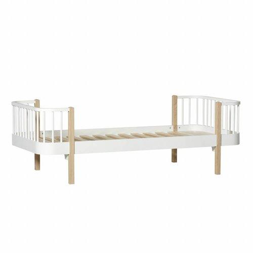 Oliver Furniture Single bed Wood Original, white-oak