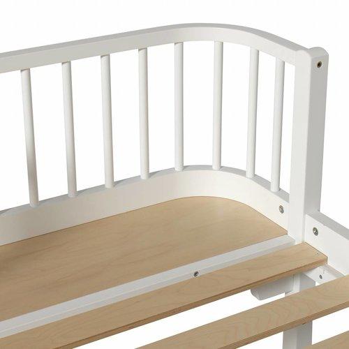 Oliver Furniture Single bed Wood Original, white