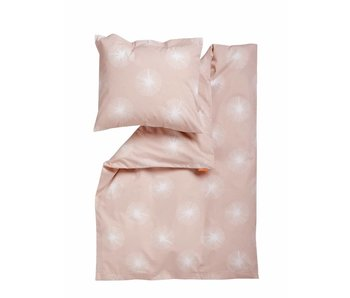 Leander Bettwäsche Flora 100 x 140 Soft pink