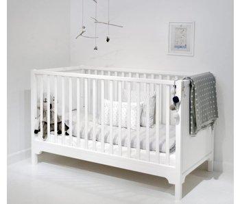 Oliver Furniture Baby- und Kinderbett weiß 70x140