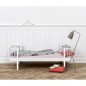 Oliver Furniture Einzelbett Wood Original, weiß
