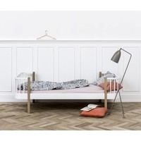 Single bed Wood Original, white-oak