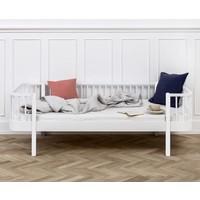 Bettsofa Wood Collection, weiß