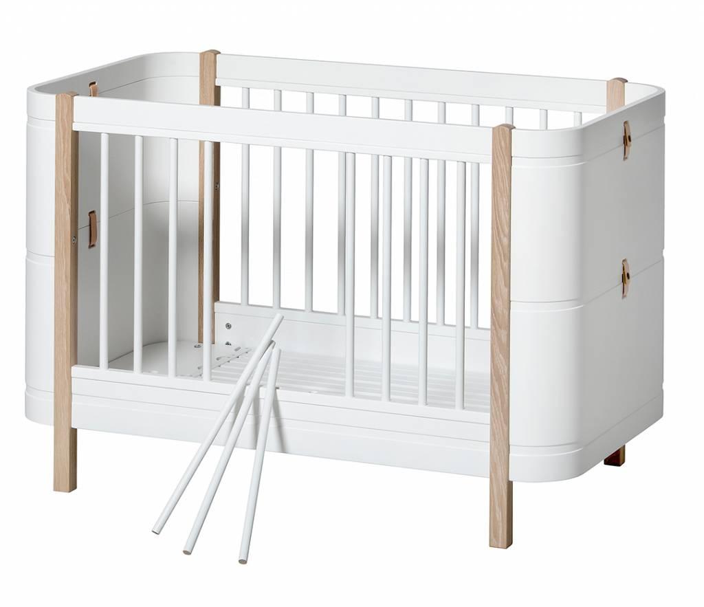 Oliver Furniture Wood Mini+ Babybett weiss Eiche - www.romy ...