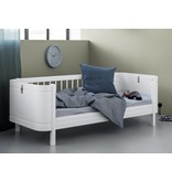 Oliver Furniture Wood Mini+ halbhohes Hochbett weiß