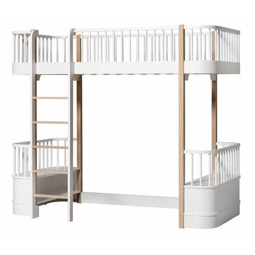 Oliver Furniture Loft bed Wood Original Collection, white-oak