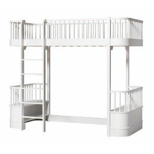 Oliver Furniture Loft bed Wood Original Collection, white