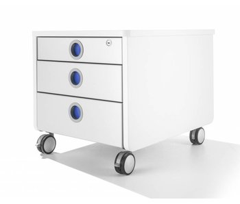 Moll Rollcontainer Pro weiß