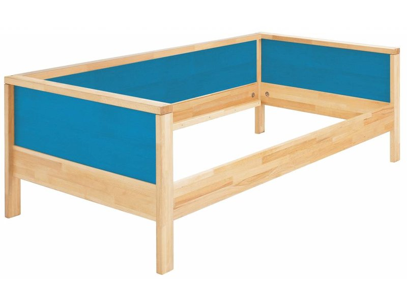 Haba Matti Aufrüstsatz Couchversion Bett (Holzrückwand für Bett) natur