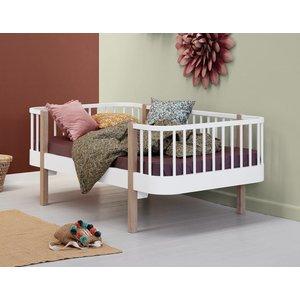 Oliver Furniture Juniorbett Wood Original, weiß/Eiche