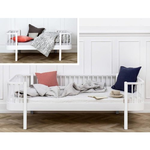 Oliver Furniture Conversion set from junior bed to bed sofa Wood white