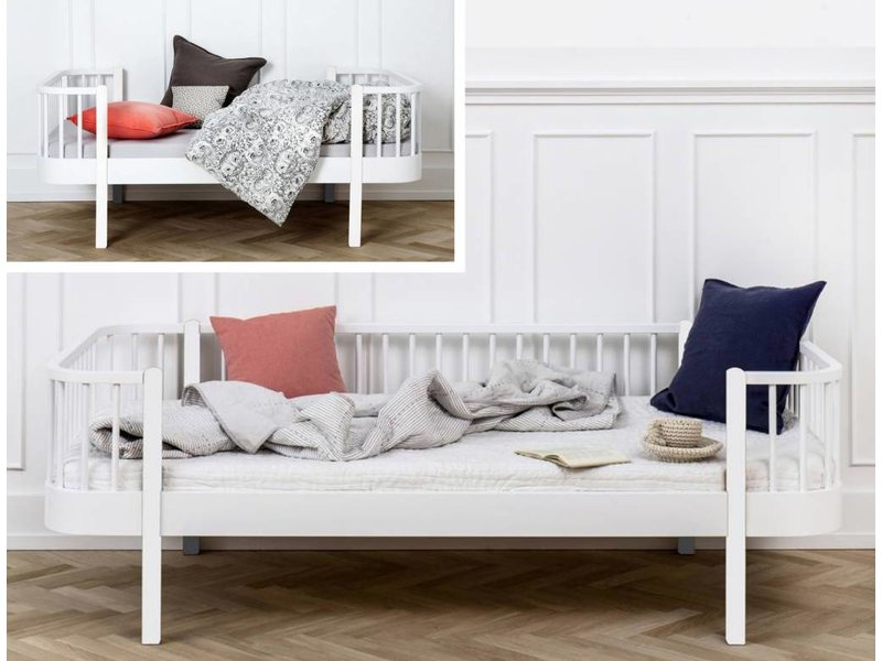Oliver Furniture Umbausatz vom Juniorbett zum Bettsofa Wood in weiß