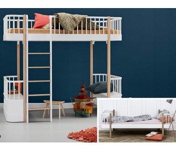 Oliver Furniture Umbau Wood Einzel/Junior zum Hochbett Eiche