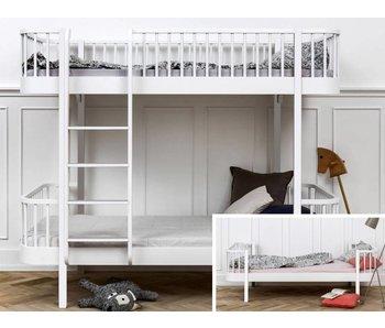 Oliver Furniture Umbau Einzelbett zum Etagenbett Wood weiß