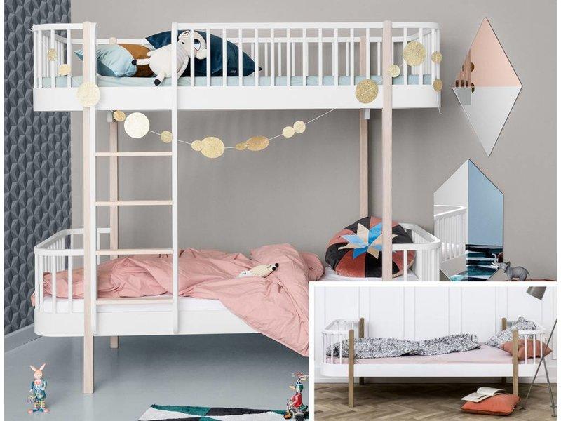 Oliver Furniture Umbau Einzel/Junior zum Etagenbett Wood Eiche