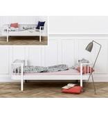 Oliver Furniture Umbausatz vom Bettsofa zum Einzelbett Wood in weiß