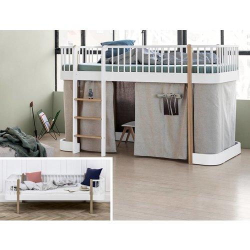 Oliver Furniture Conversion Juniorbett to Einzelbett Wood  - oak