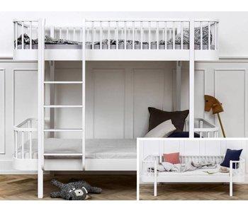 Oliver Furniture Umbau Bettsofa zum Etagenbett Wood weiß