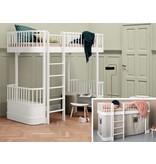 Oliver Furniture Umbausatz vom halbhohen Bett zum Hochbett Wood weiß