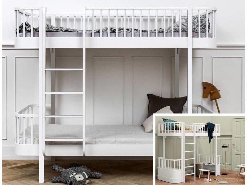 Etagenbett Oliver : Oliver furniture umbausatz vom hochbett zum etagenbett wood weiß