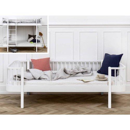 Oliver Furniture Umbausatz Etagenbett zum Bettsofa Wood in weiß