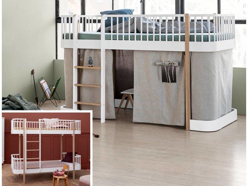 Etagenbett Eiche : Etagenbett massivholz erwachsene etagenbetten eiche